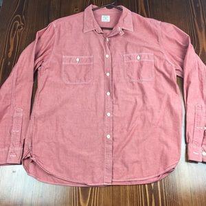 J Crew Chambray Shirt Size XL